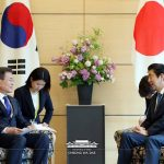 Kore Cumhurbaşkanı 6 yıldan sonra  Japonya'da