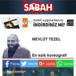 Sabah gazetesi futbol yazarı Mevlüt Tezel'e