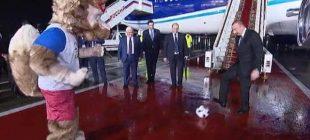 Aliyev, TANAP açılışının ardından Moskova'ya geldi