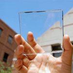 Прозрачная и проницаемая солнечная панель