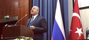 Çavuşoğlu'nun açıklamaları Rus basınında geniş yankı buldu: ABD yaptırımları kabuledilemez