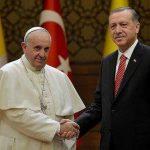 Trump düşmanı Papa Erdoğan'ı bekliyor!