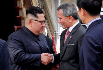 Kuzey Kore Lideri Kim Jong Un Singapur'a ulaştı, Trump yolda