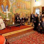 Roma Papası Fransisk Tbilisidə dini icmaların rəhbərləri ilə görüşüb