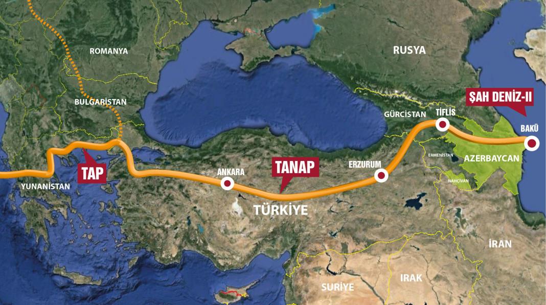 Rusya krizi ve Türkiye'nin değişen enerji jeopolitiği