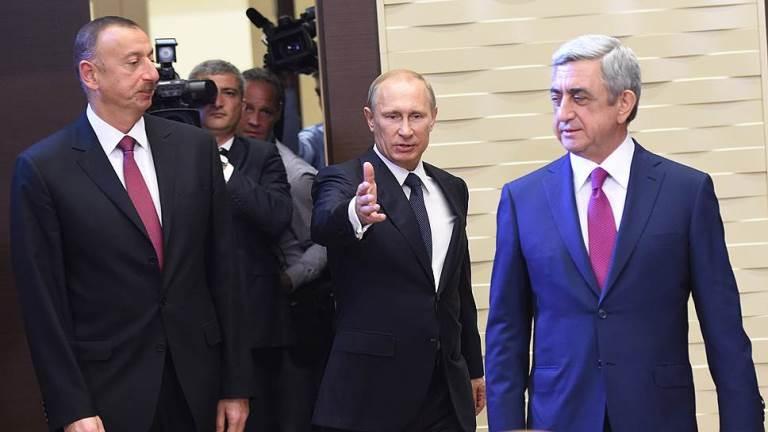 Rusiya, Azərbaycan və Ermənistan prezidentlərinin ortaq bəyanatı