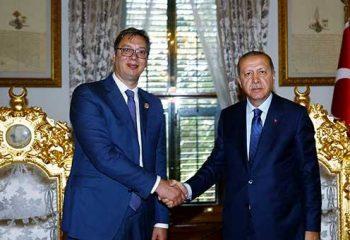 Sırbistan Cumhurbaşkanı'ndan batıya sert tepki: Erdoğan dahil istediğim her kesle görüşürüm!