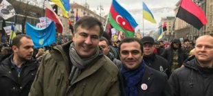 "Saakaşvilinin yanındakı azərbaycanlı ""Yeni Müsavat""a danışdı"