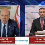 KKTC Cumhurbaşkanı Ersin Tatar, EkoAvrasya'nın Sorularını Cevapladı