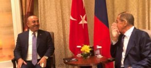 Rusya Dışişleri Sözcüsü Zaharova'dan dikkat çeken Çavuşoğlu-Lavrov fotoğrafı