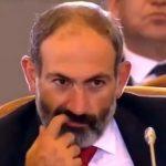 Ermeni Başbakan Paşinyan, kameralara fena yakalandı