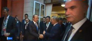 Çavuşoğlu'dan Putin'e: Güzel çalışma oldu!