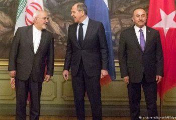 نشست وزیران خارجه ترکیه، روسیه و ایران در مسکو