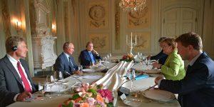 Putin Merkel görüşmesi