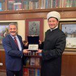 Damir Mukhetdinov: Сегодня встретился в резиденции Духовного управления мусульман РФ с делегацией Турецкой Республики