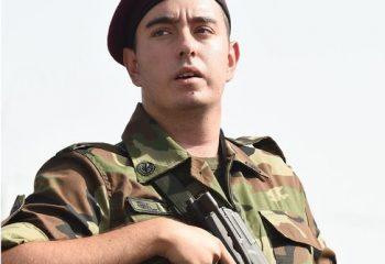Dedesinin yolunu tercih etti: Torun Haydar Aliyev, Güvenlik Bakanlığı'nda askerliğe başladı