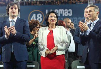 Gürcistan Cumhurbaşkanı olarak Diplomat Kökenli Salome Zurabishvili Seçildi…