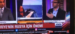Kafkassam Uzmanı Yaroslav Samoylov Bengü Türk televizyonun 'da