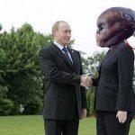 Uzaylı Türkler Rus başkan Putin'i kaçırdı mı?