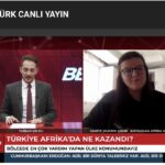 Huriye Çınar Erdoğan'ın Afrika ziyaretini İHA'ya değerlendirdi