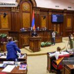 Как Вы думаете кто, сегодня бутылками бросался в армянском парламенте?