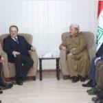 Barzani yaşarsa  yıl sonuna kadar Moskova'yı ziyaret edebilir