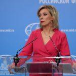 Zaharova; Türkiye ile ortaklığımız devam etmektedir
