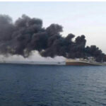 İran'ın en büyük savaş gemisi, Umman Körfezi'nde battı