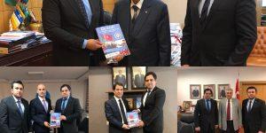 Güney Azerbaycan Milli Uyanış Hareketi Ankara'da önemli görüşmelerde bulundu