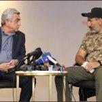 Ermənistan hakimiyyəti təslim olmaq istəmir