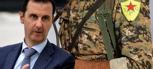 Rejim'in YPG'yi Ayn El Arap'ta (Kobani) korumaya çalışması