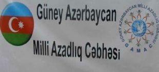 Güney Azerbaycan Milli Azatlık Cephesİnden Türkiyeye destek
