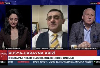 Kafkassam başkanı BBN Türk tv de Ukrayna'yı konuştu
