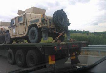 ABD askeri araçları Deir Ez Zor'a  ulaştı
