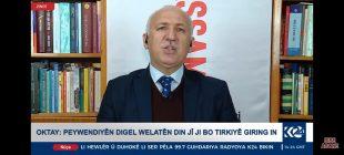Hasan Oktay K 24 Tv ye AB yaptırım kararları ile ilgili açıklama yaptı