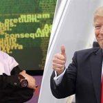 Yahudi Büyücülerin Cinleri Trump'ı ele geçirmiş!