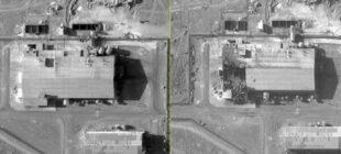 İran'daki sabotajın uydu görüntüleri
