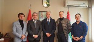 Abhazya Cumhuriyeti Türkiye Temsilcisi ve Yardımcıları Göreve Başladı