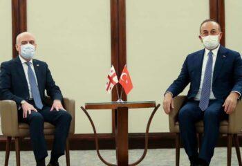Türkiye ve Gürcistan Dışişleri Bakanları bölgesel sorunları görüştü