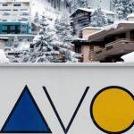 Alp dağlarında bir kasaba olan Davos