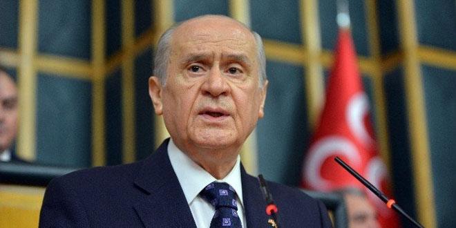 BAHÇELİ; Türk milleti bu badireyi atlatacak, bu belayı def edecektir