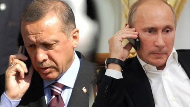 Bir elmanın iki yarısı Putin ve Erdoğan