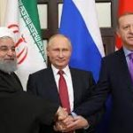 В Сочи состоялся очередной саммит Путина, Эрдогана и Роухани