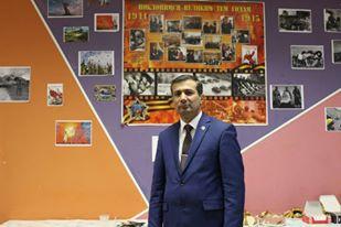 """SEYRAN HÜSEYİNOV: """"RUSYA'NIN ZENGİLİNLİĞİ, HALKLAR DOSTLUĞU, HOŞGÖRÜ VE VATANSEVERLİKTİR"""""""