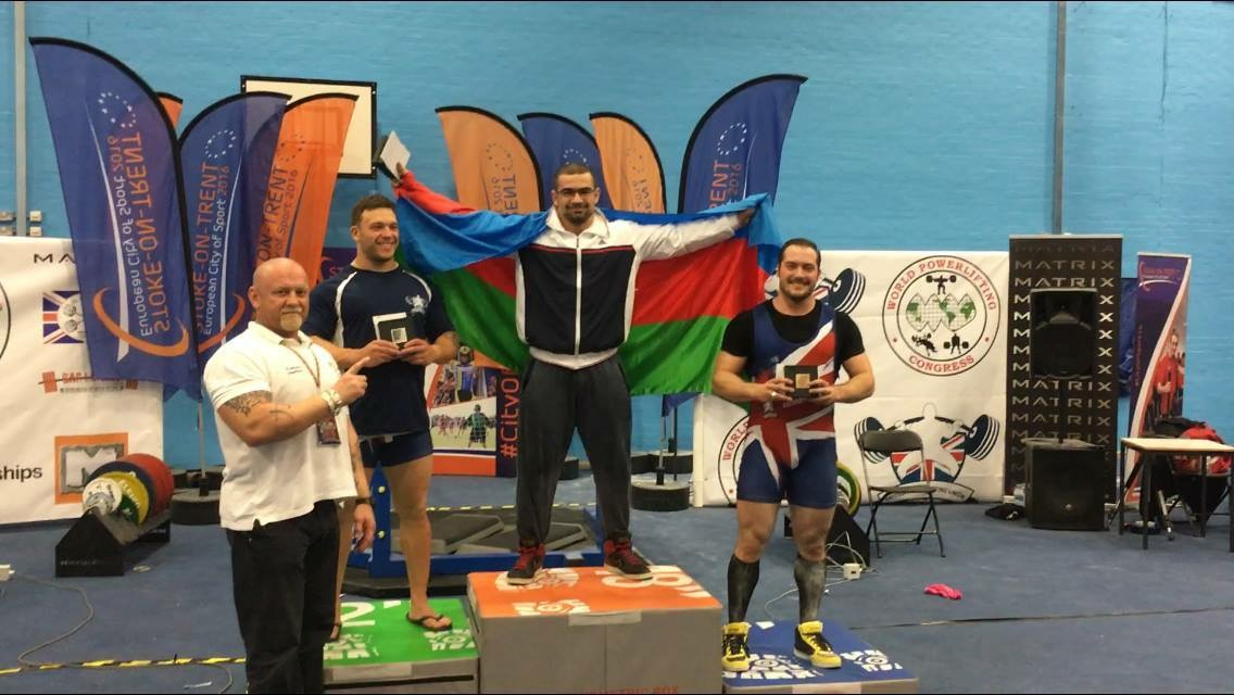 Ferec Celilov Avrupa şampiyonu oldu