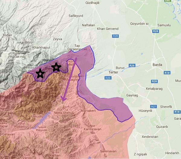 Հայկական բանակն անցել է խաղաղություն պարտադրելուն