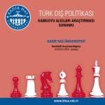 Kadir Has Üniversitesi Dış Politika Kamuoyu Algıları Araştırması Sonuçları Açıklandı