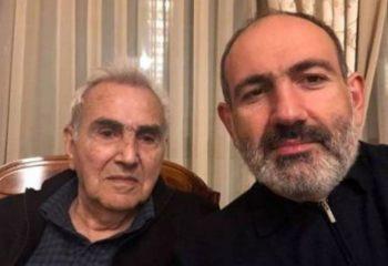 Başbakan Nikol Paşinyan'ın babası öldü