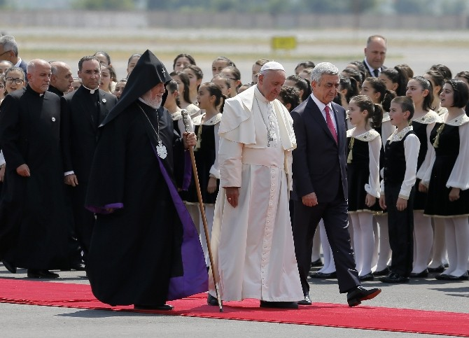 Armenia: Pope Francis Impacts Politics