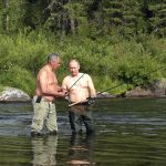 Putin tatilde